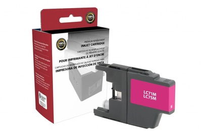 Brother LC71/75M ---MAGENTA (Item#1866)... (INK REFILL)